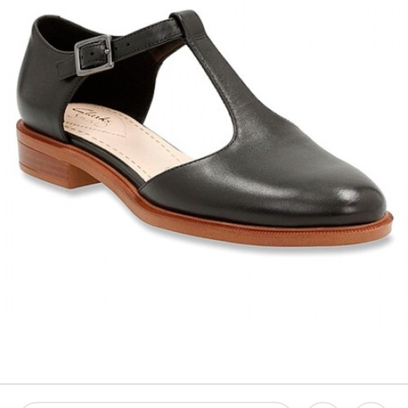 06b272a7ebeb Clarks Shoes - Clarks Taylor Palm T Strap Flats